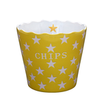 Krasilnikoff Chips Schüssel, Yellow Star