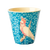 RICE Becher VINTAGE BIRD blue
