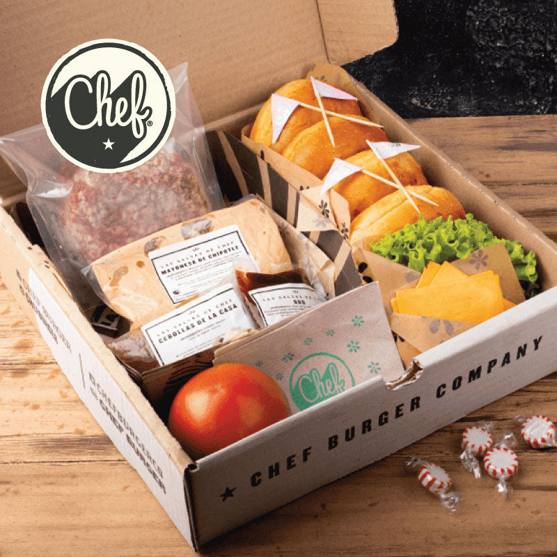 Burger Box Cheeseburger (Para 4 personas)