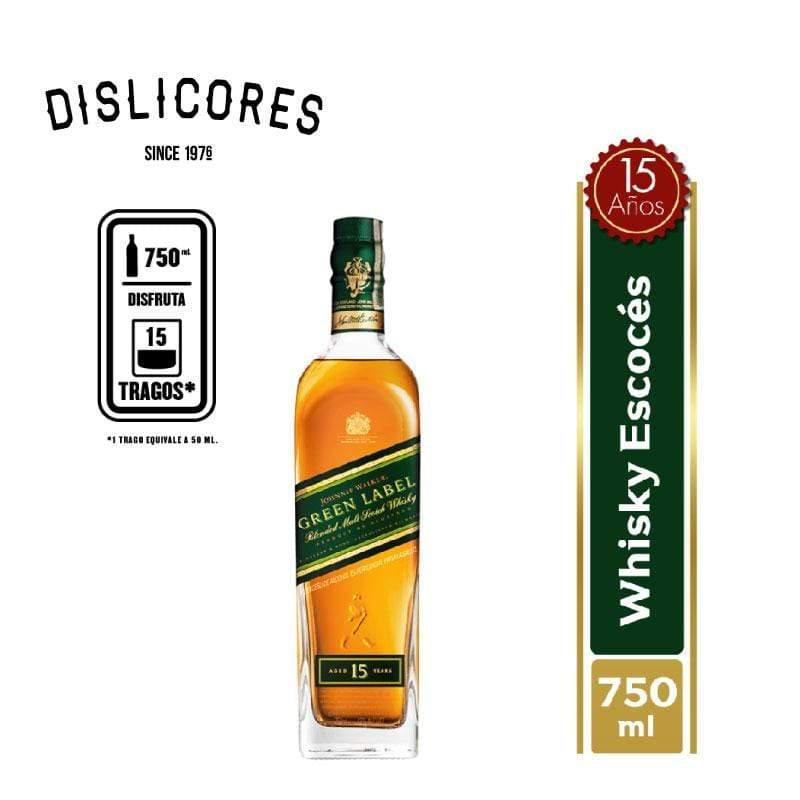 Johnnie Walker Green Label - TRM Bogotá
