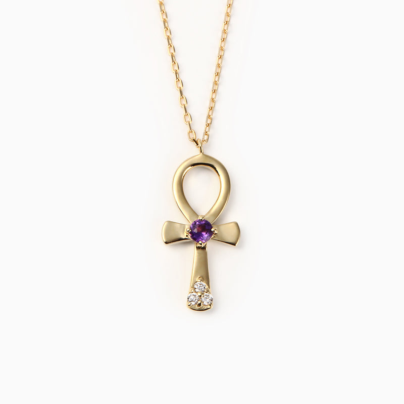 MINI ANKH CROSS