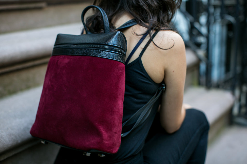 Women's Themis Backpack | Cabernet Suede