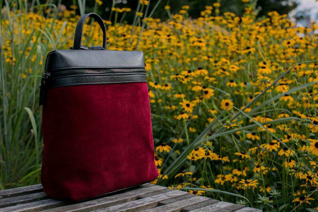 Men's Themis Backpack | Cabernet Suede