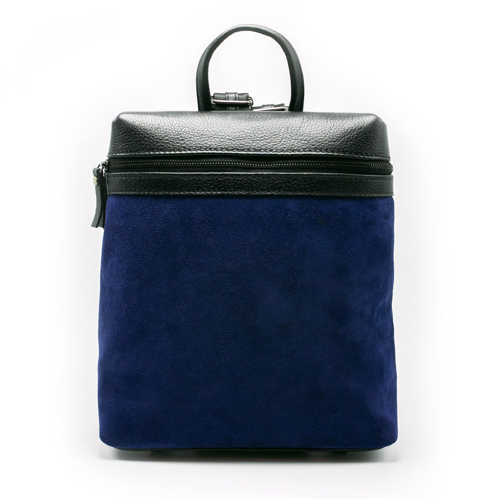 Women's Themis Backpack | Azul Suede