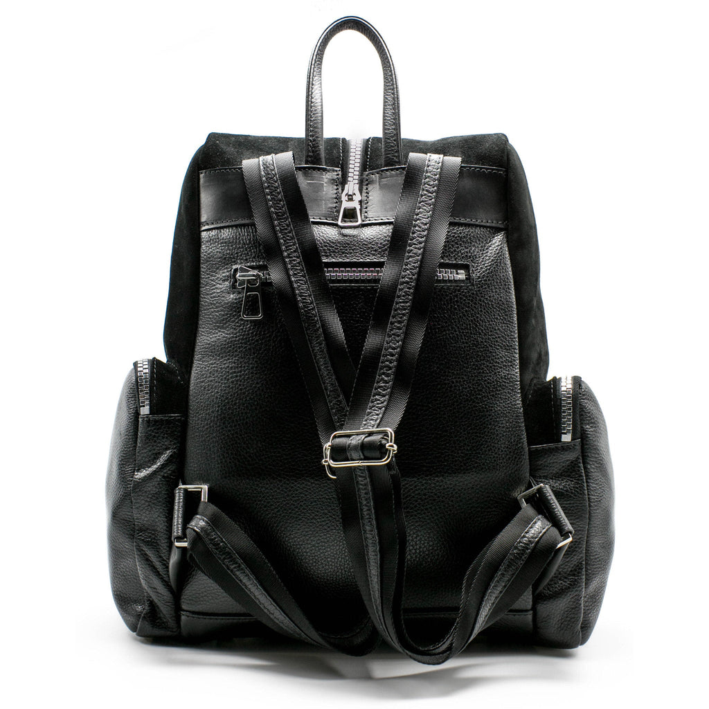 Women's Sao Backpack | Charcoal Leather