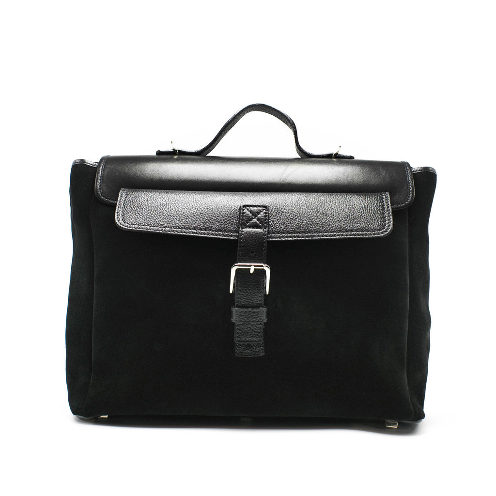 Men's Ermis Backpack | Charcoal Leather