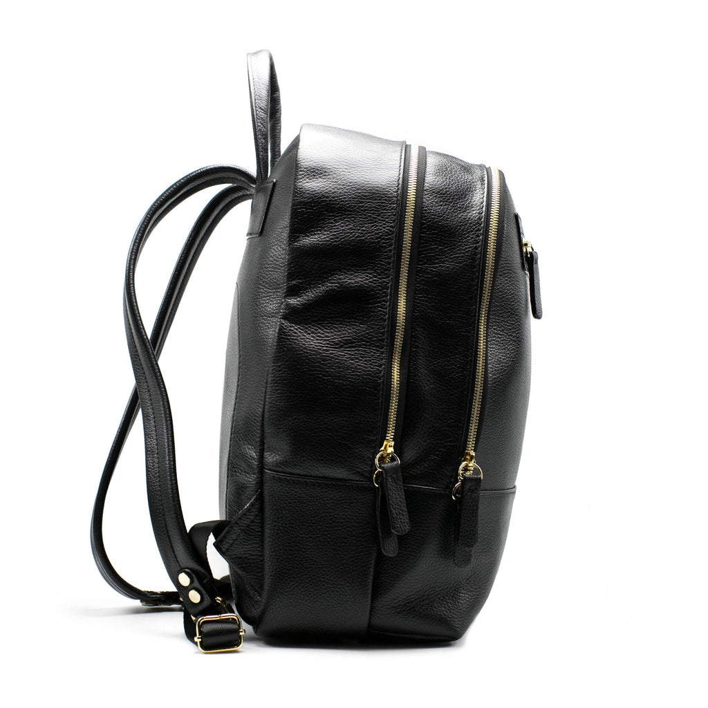 Women's Atlas Backpack | Charcoal Leather