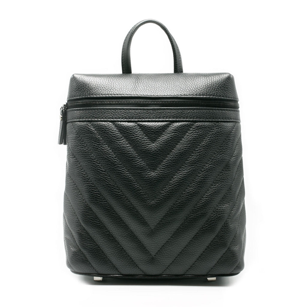 Women's IVI Backpack | Charcoal Leather