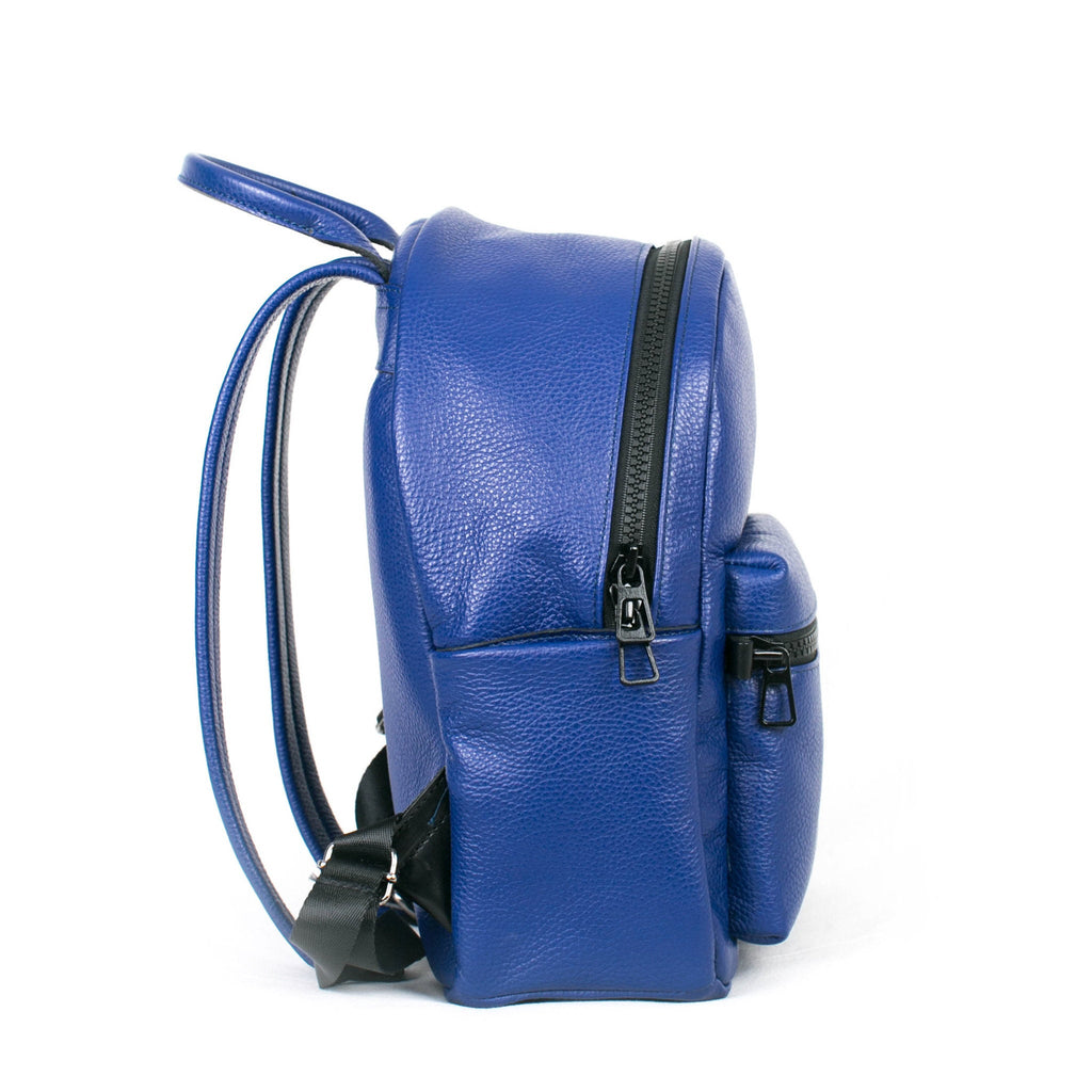 Men's Crown Backpack | Cobalt Leather