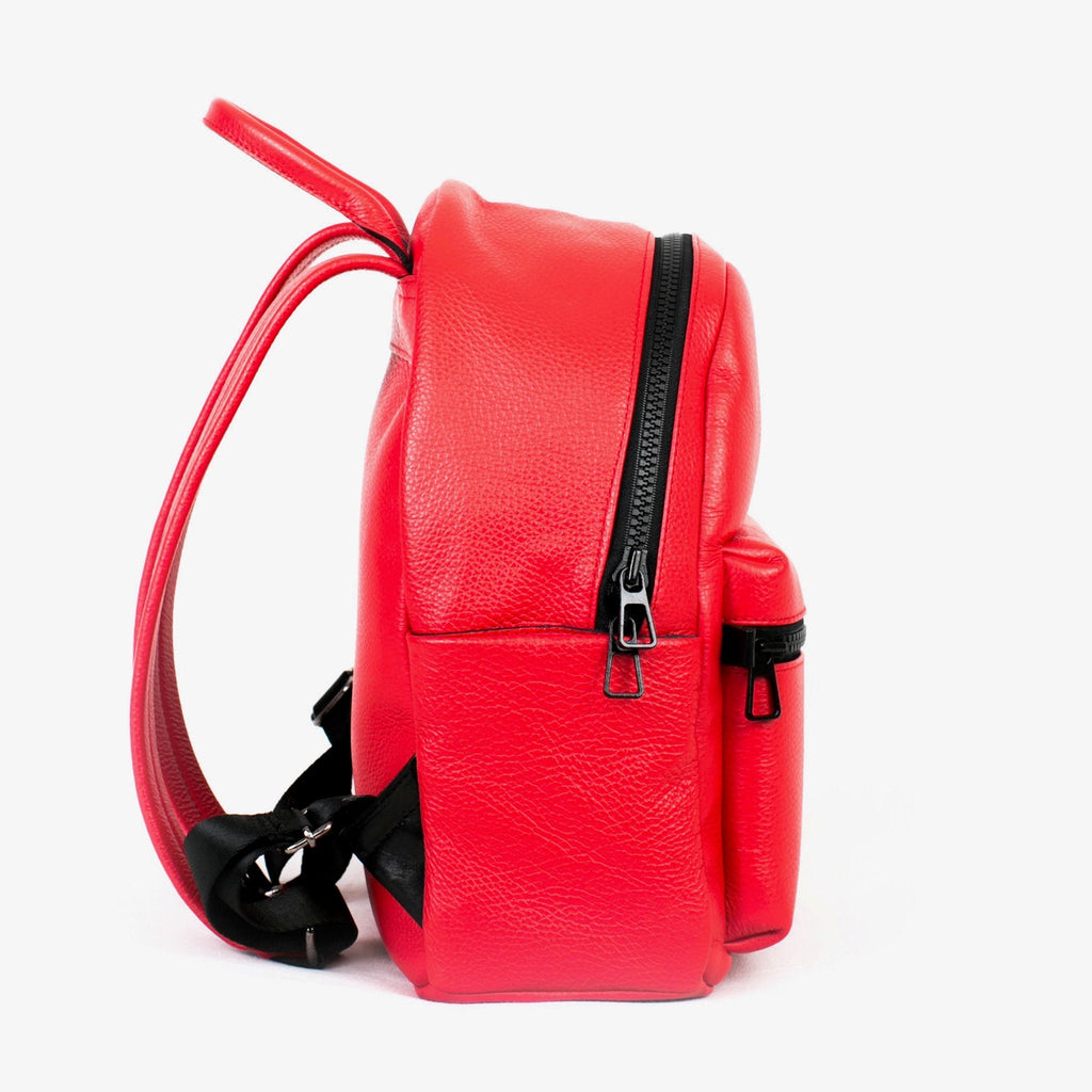 Women's Crown Backpack | Scarlet Leather