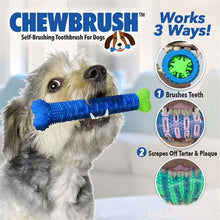 Load image into Gallery viewer, CHEWBRUSH Pet Molar Tooth Cleaning Brushing Stick - Paws & Pose