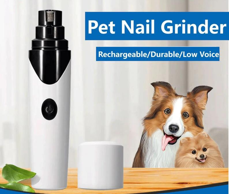Painless USB Charging Dog Nail Grinder Rechargeable - Paws & Pose