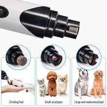 Load image into Gallery viewer, Painless USB Charging Dog Nail Grinder Rechargeable - Paws & Pose