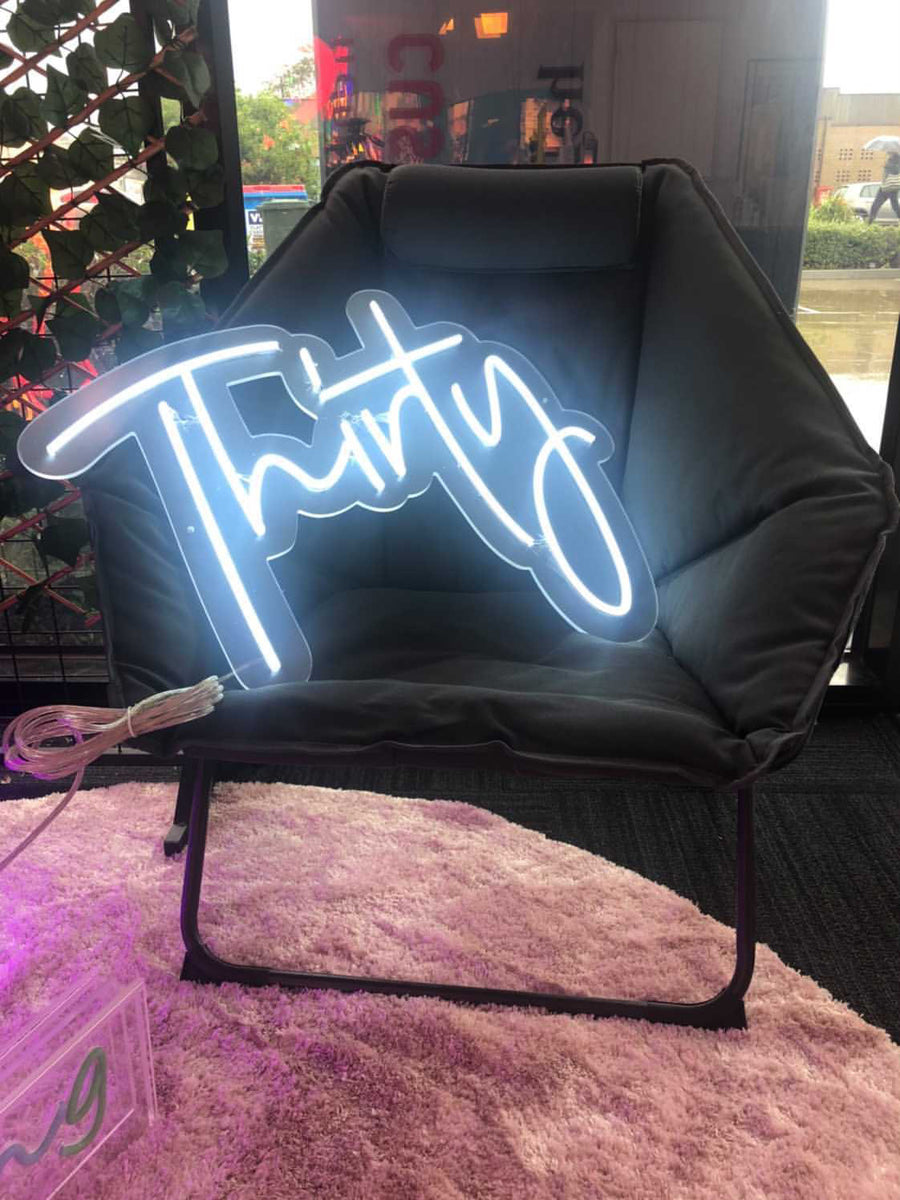 'Thirty' Neon light