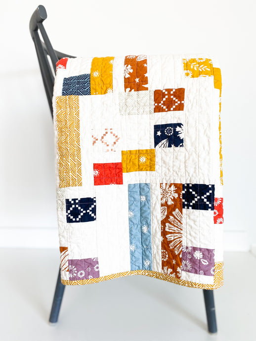The Rebekah Modern Quilt featuring Golden Hour by Ruby Star Society