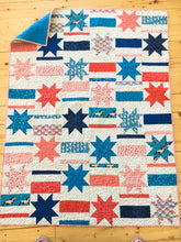 Load image into Gallery viewer, Mismatched Stars and Stripes PDF Pattern