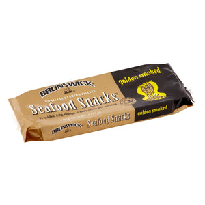 Brunswick Golden Smoked Seafood Snack, 3.53 oz Can