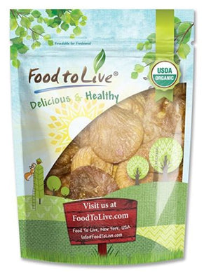 Food To Live ® Certified Organic Figs (2 Pounds)