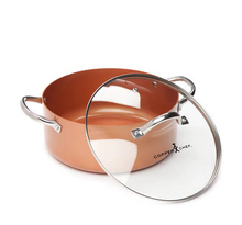 Load image into Gallery viewer, Copper Chef™ 5 Piece Cookware Set  Color: :Copper