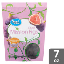 Load image into Gallery viewer, Great Value Dried Figs, Mission, 7 oz