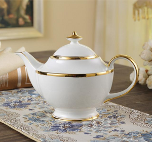 The Golden Rim Teacup Collection Set
