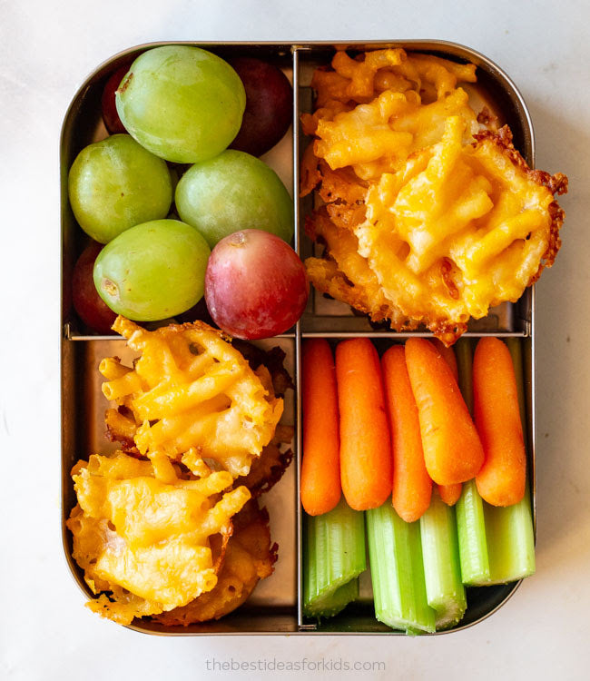 Mini Mac and Cheese Cups