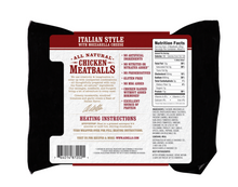 Load image into Gallery viewer, Aidells Chicken Meatballs Italian Style With Mozzarella Cheese 12 oz