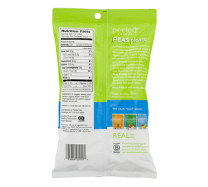 Peeled Snacks Peas Please Sea Salt 3.3 oz