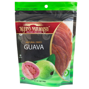 Klein's Naturals Natural Dried Guava, 7-Ounce Pouch