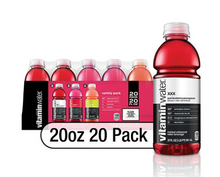 Load image into Gallery viewer, Glaceau Vitaminwater Variety Pack (20oz / 20pk)