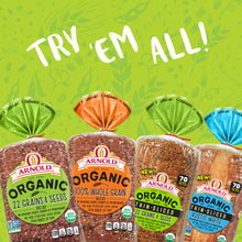 Load image into Gallery viewer, Oroweat Organic 100% Whole Grain Bread, Non-GMO Organic Bread, 27 oz