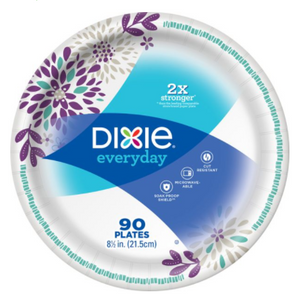 "Dixie Value Pack 8.5"" Plates 90 x 90 ct"