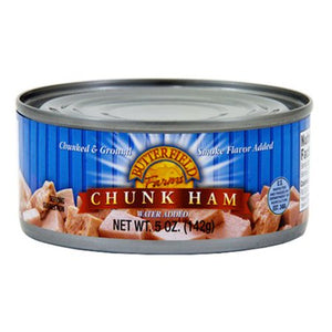 (12 pack) Butterfield Farms Chunk Ham with Water Added, 5 oz. cans