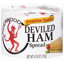 Load image into Gallery viewer, Underwood® Deviled Ham Spread 4.25 oz. Can