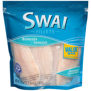 S Why Frozen Swai Fillets 4lb