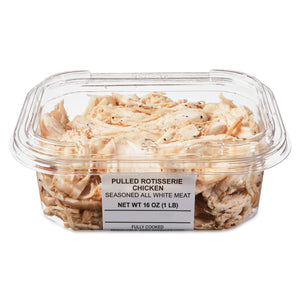 Freshness Guaranteed Seasoned All White Meat Pulled Rotisserie Chicken, 16 oz