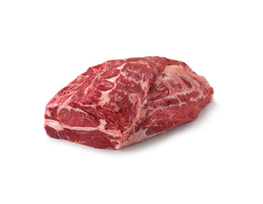 USDA  Angus Beef Whole Chuck Roll Cryovac (1 piece per bag, priced per pound)