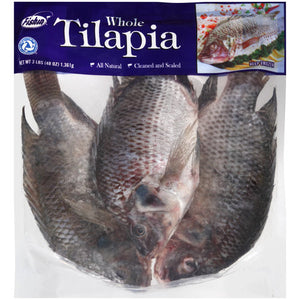 Frozen Whole Tilapia, 3.0 lb