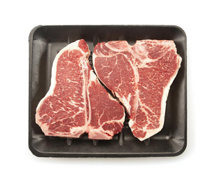 USDA Choice Angus Beef Loin T-Bone Steak (priced per pound)