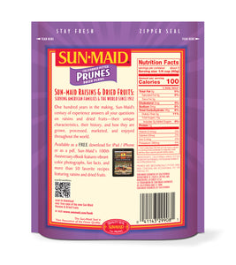 Sun-Maid California Pitted Prunes Dried Plums, 7 Oz.