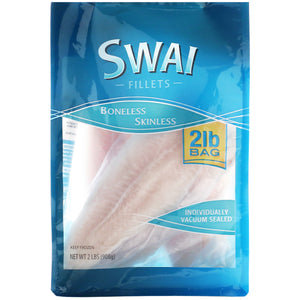 Frozen Swai Fillets, 2 lbs.