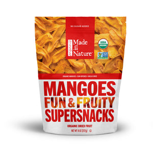 Made In Nature Organic Dried Mangoes, 8 oz