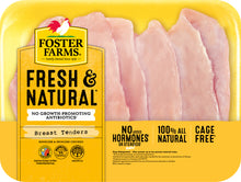Load image into Gallery viewer, Foster Farms Chicken Tenders, 1 - 2 lbs
