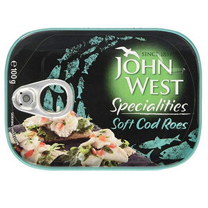 John West Cod Soft Roes (100g) - Pack of 2