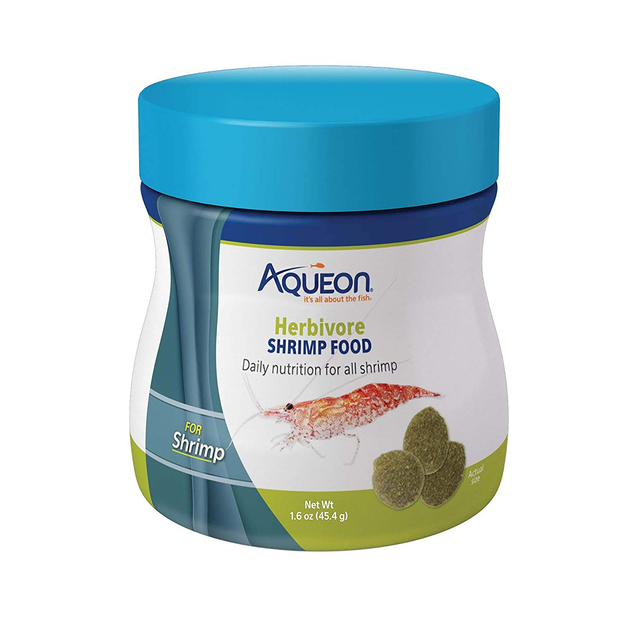 Aqueon Herbivore Shrimp Disc Food 1.6 Ounces