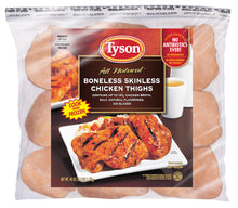 Load image into Gallery viewer, Tyson® Boneless Skinless Chicken Thighs, 2.5 lb. (Frozen)