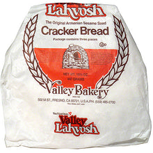 Load image into Gallery viewer, Valley Lahvosh Original Armenian Sesame Seed Crackerbread, 15.75 oz (Pack of 7)
