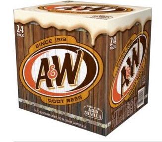 A&W Root Beer (12oz / 24pk)
