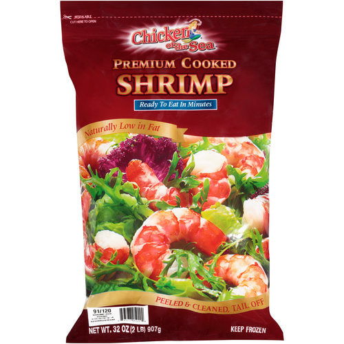 Chicken of the Sea Premium Cooked Shrimp, 32 oz