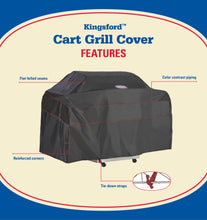 Load image into Gallery viewer, Kingsford Black Grill Cover, Medium-Small